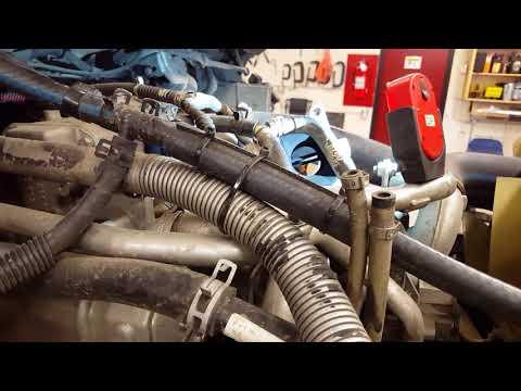 Mercedes Diesel Engine EGR Valve Test Using Software