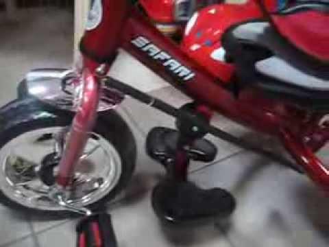 Велосипед 3х-колёсный детский