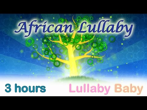 ☆ 3 HOURS ☆ AFRICAN LULLABY ☆ Kalimba ☆ Baby Sleep Music ~ Lullaby for babies to go to sleep
