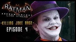 Batman Arkham Knight: Keaton Stream PART 4 Killing Joke RAGE!!! (HD)