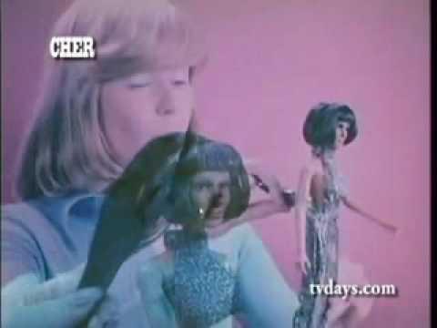 CHER DOLL -Mego Advert (Rare 70'S )