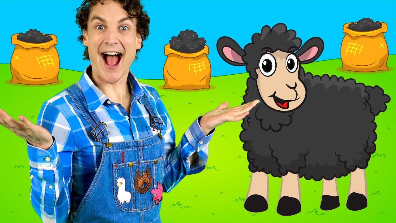Baa Baa Black Sheep - Nursery Rhymes and Kids Songs