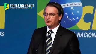Jair Bolsonaro fala para 4.000 prefeitos e é aplaudido de pé e chamado de mito (09/ABR/2019)