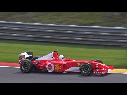 Ferrari F1 F2002 PURE V10 EXHAUST SOUNDS!!