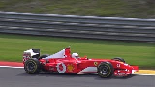 Ferrari F1 F2002 PURE V10 EXHAUST SOUNDS!!