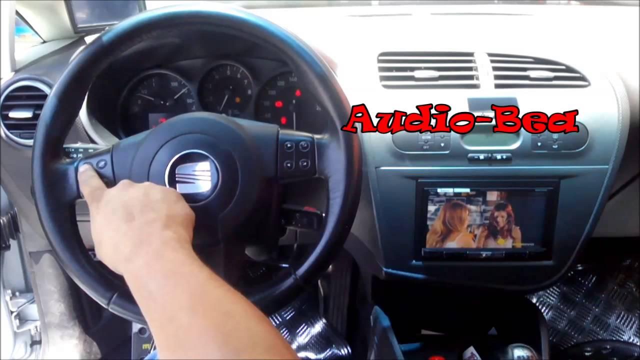 Controles De Volante De Seat Leon Audio Bea Youtube