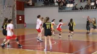Finale Championnats de France UNSS Handball minimes feminin 2013 - mort subite