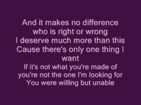 Lucie Silvas - What You're Made Of  WITH LYRICS