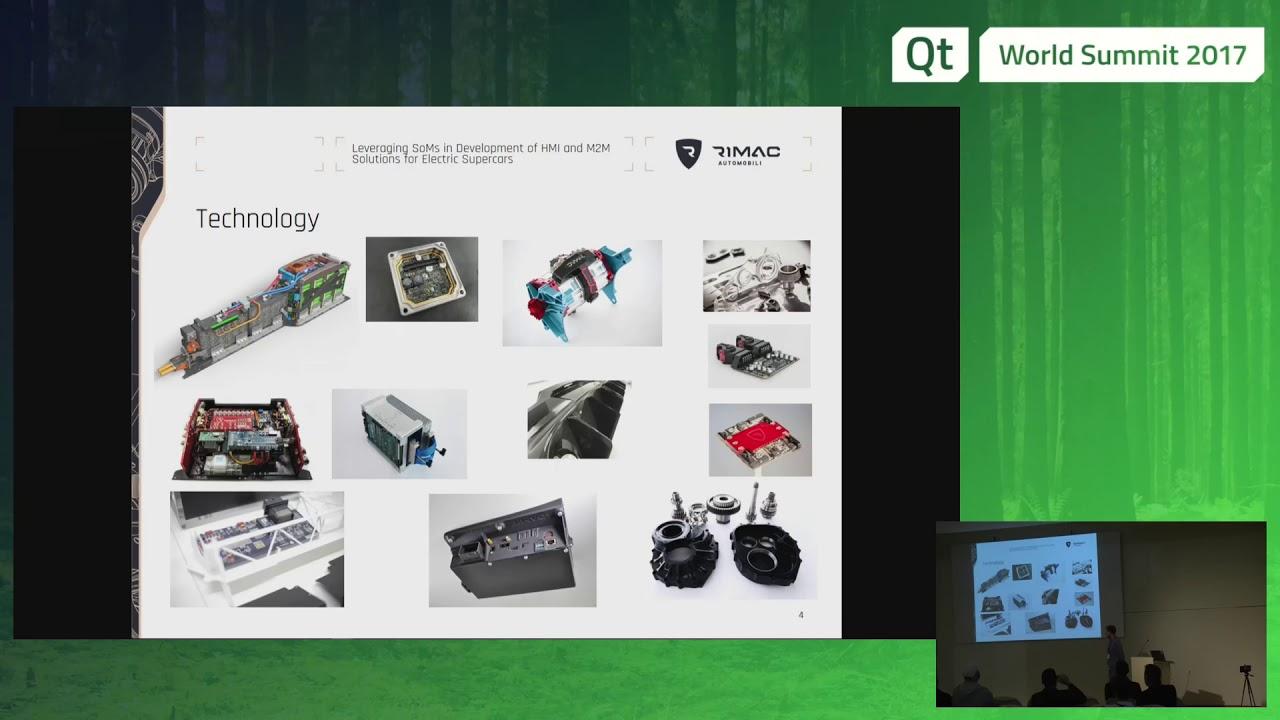 QtWS17 - System-on-Modules HMI and M2M solutions development, Rimac  Automobili, Toradex