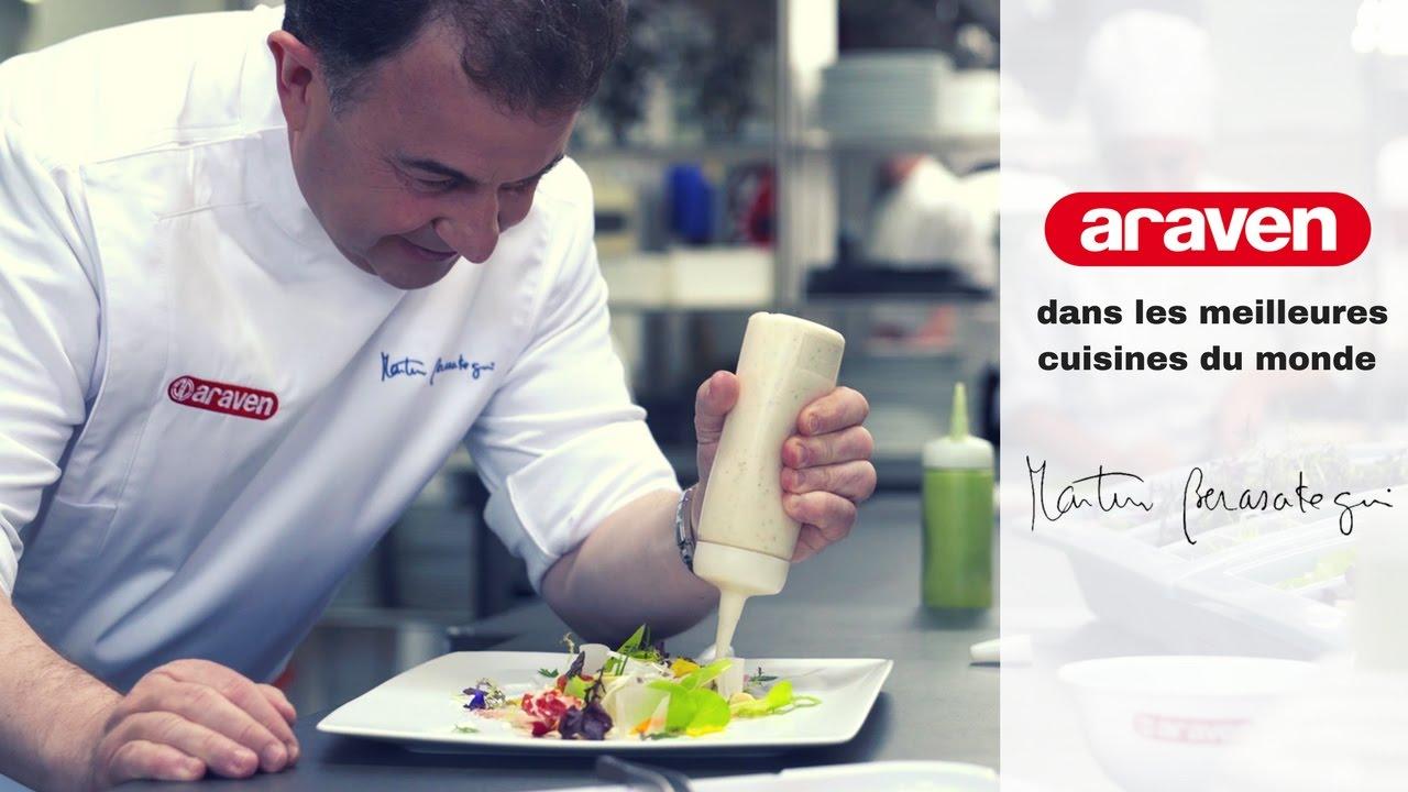 araven présente dans les meilleures cuisines du monde   martín