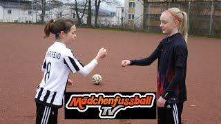 Mädchenfussball TV - Lattenschuss Challenge
