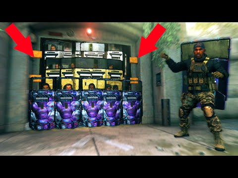 they WERE ALL TRYING to BLOCK OFF THE BUNKER WITH RIOT SHIELDS!?! HIDE N' SEEK ON MODERN WARFARE