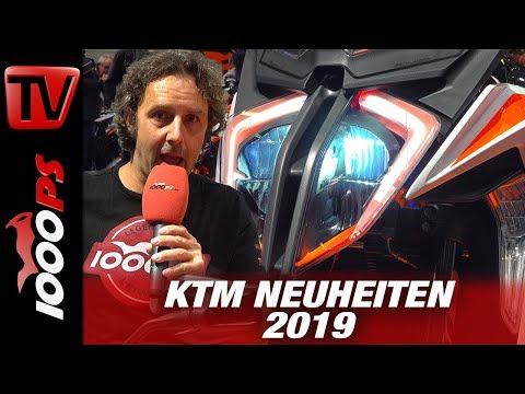 KTM Neuheiten 2019 - SuperDuke R und GT - 790 Adventure R INTERMOT