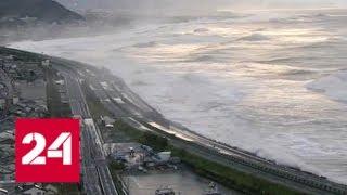 "Тайфун ""Лан"" разбил российский сухогруз и помог Абэ победить - Россия 24"
