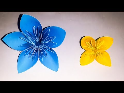 Japanese origami kusudama flower making step by step | DIY paper Flower By Rasel craft