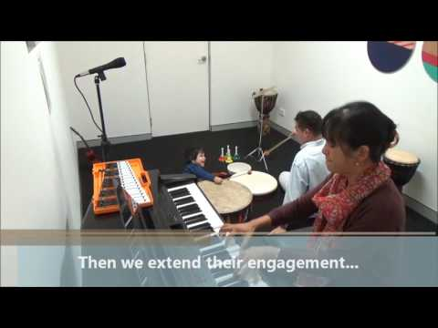 Developing Communication Skills through Music Therapy