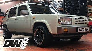 The Almighty Nissan Rasheen JDM 4x4