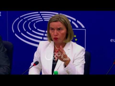 Ora News - Shqipëria dhe Maqedonia marrin rekomandimin, Mogherini: Të vazhdohet me reformat