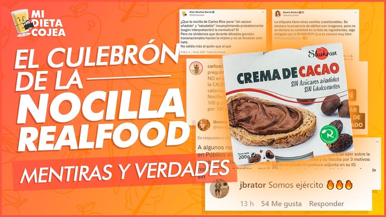 El culebrón de la Nocilla realfood: Verdades y mentiras de la polémica
