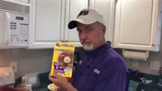 Cajun Charles cooking Meatball Fricassee (stew) quickly