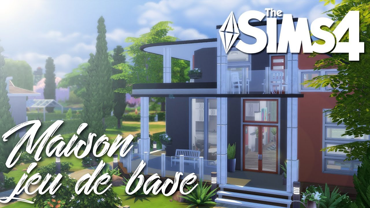 Cr ation sims 4 maison 100 jeu de base d fi youtube - Jeu de creation de maison ...