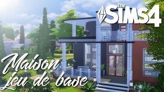 Création Sims 4 | Maison 100% jeu de base ! (Défi)