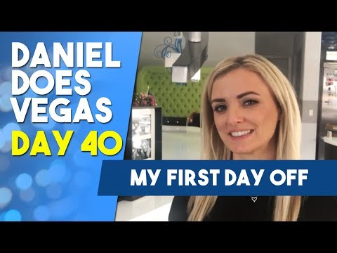 And on the 40th day he rested - Go Tanya! WSOP VLOG DAY 40