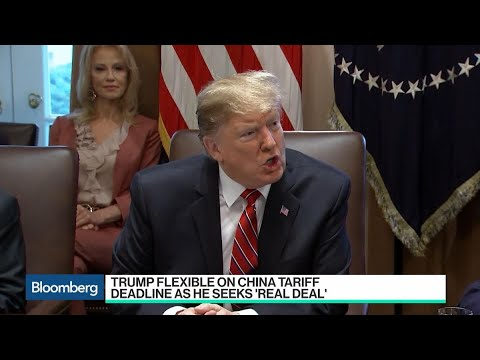 Trump Flexible on China Tariff Deadline in Seeking Deal