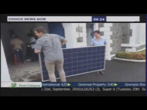 Solar Launch Event - Government House Saint Lucia - Choice TV