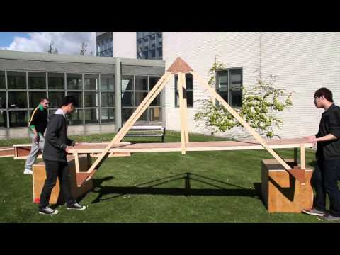 1st Year Civil Engineering Bridge Build Project