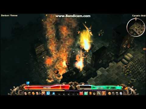 Grim Dawn - Themite Mine B27 - Detonation