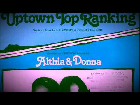 Althia & Donna - Uptown Top Ranking (Chopped N Screwed)