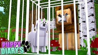 LITTLE KELLY PUPPY IS TRAPPED AT THE ZOO | Minecraft Little Kelly