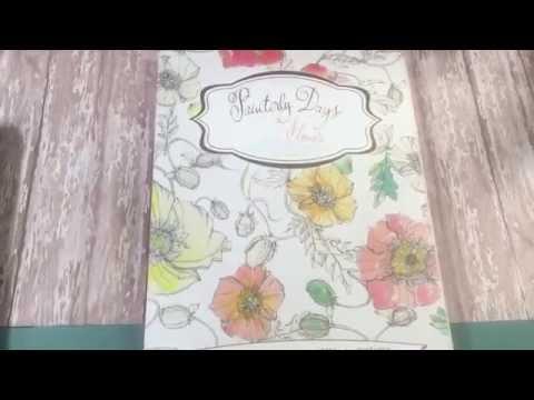 painterly-days-flower-book-flip-thru
