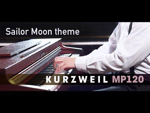 Геннадий Федоров играет на Kurzweil MP120 (тема из м/ф Сейлор Мун - Moonlight Densetsu) аниме картинки фото