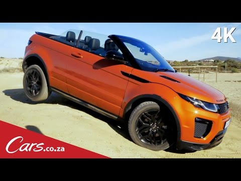 Can you go off-road in a convertible? We drive the Range Rover Evoque Convertible