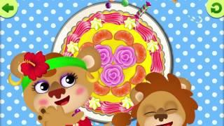 Три Тортика для МАМЫ | Смешная Еда: Мультяшные Игры для Малышей