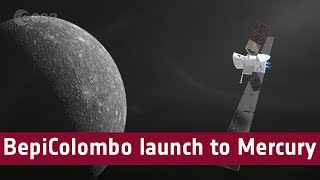 BepiColombo launch to Mercury