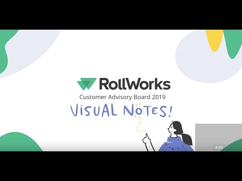 RollWorks Customer Advisory Board 2019