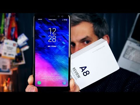 SAMSUNG GALAXY A8 - Déballage, Prise en Main + Test  !