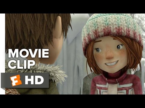 Snowtime! Movie CLIP - First Kiss (2016) - Animated Movie HD