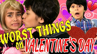 valentines day 10 worst things relatable gem sisters