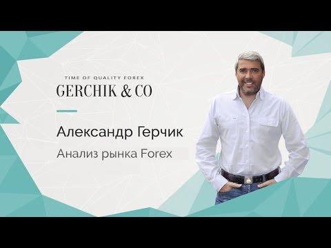 АНАЛИЗ РЫНКА FOREX с Александром Герчиком 16.01.2017