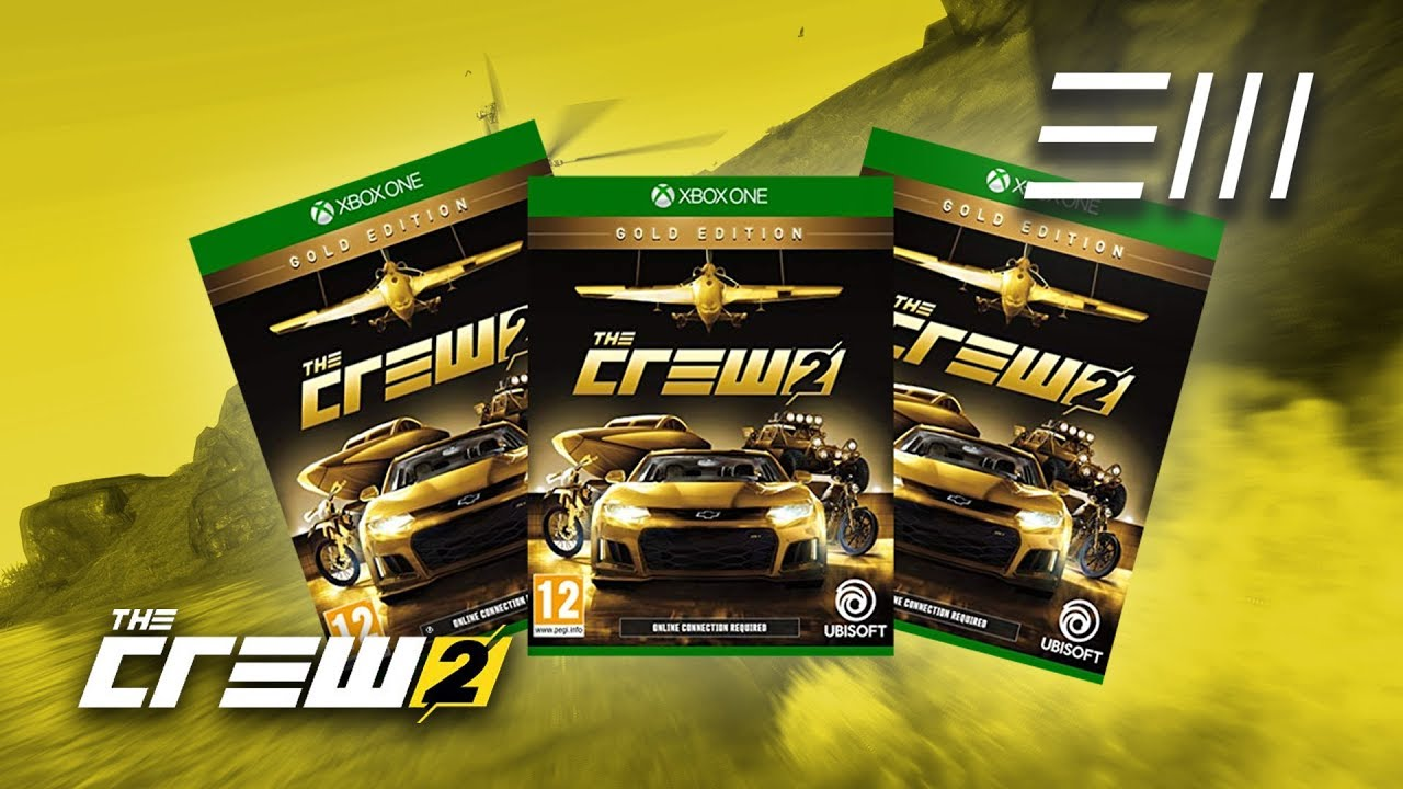 the crew 2 gold edition giveaway 3 free copies to be. Black Bedroom Furniture Sets. Home Design Ideas
