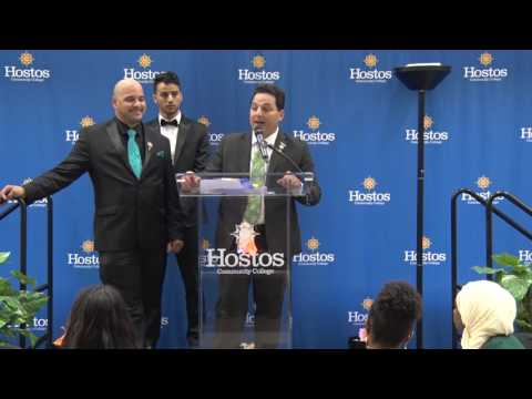 Hostos Student Leadership Academy-Passing the Torch Ceremony 2017 (10th Anniversary) 10