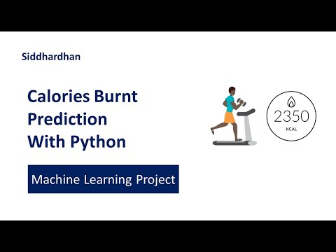 Calories Burnt Prediction using Machine Learning with Python   Machine Learning Projects