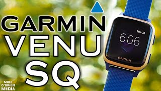 NEW GARMIN VENU SQ (Accurate HR/GPS, Offline Spotify, 5 Day Battery)