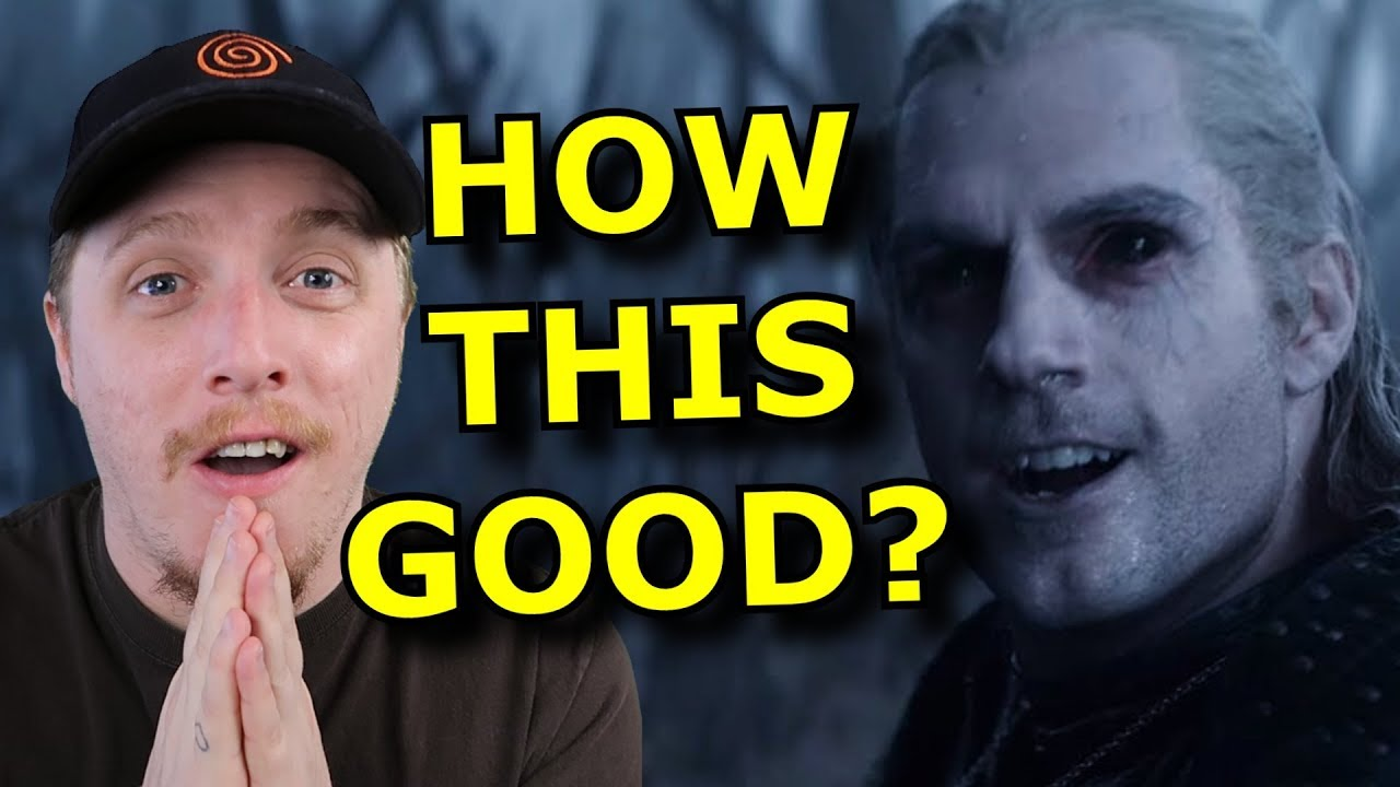 So the Witcher on Netflix is CRAZY GOOD?! - Review thumbnail