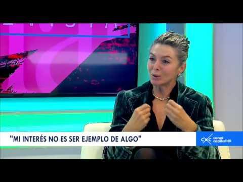 Entrevista con Claudia Palacios - Margarita Rosa de Francisco, actriz y escritora