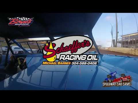 #99 David Doss - Sportsman Late Model - 10-29-17 Boyd's Speedway - In-Car Camera